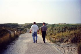 10-9-1999: Short vacation with Joost, Texel NL